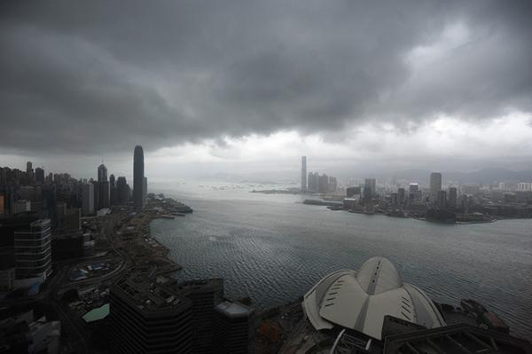 台風 香港