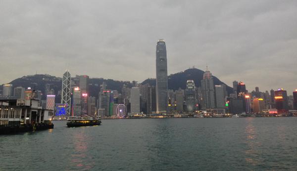 香港の夜景 観覧車
